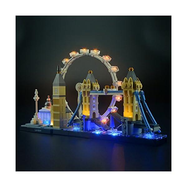 LIGHTAILING Set di Luci per (Architecture Londra) Modello da Costruire - Kit Luce LED Compatibile con Lego 21034 (Non… 3 spesavip