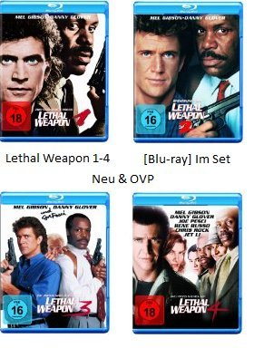 Lethal Weapon 1-4 [Blu-ray] Im Set (Blu-ray-lethal Weapon)