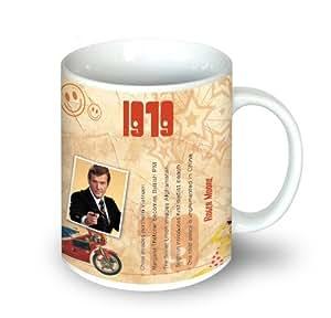 1979 cadeau d'anniversaire tasse de café de 1979