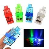40 Super Bright Finger Taschenlampen - LED Finger Blink Fackel Leuchtet Lampe Kinder Magisch - Party Rave Club Finger Lichter