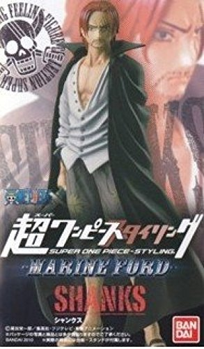 Super One Piece Styling Marine Ford Poule Poule Marineford Shanks seul article non ouvert (Japon import / Le paquet et le manuel sont ?crites en japonais)