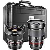 Walimex pro Evento Conjunto de lente para Nikon