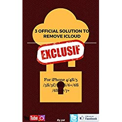 The 3 official solutions to remove iCloud for iPhone (English Edition)