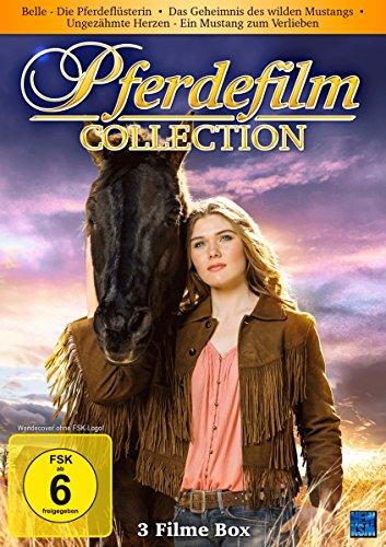 Bild von Pferdefilm Collection - Belle - Die Pferdeflüsterin/Das Geheimnis des wilden Mustangs/Ungezähmte Herzen - Ein Mustang zum verlieben