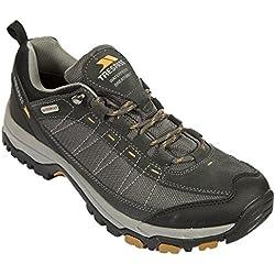 Trespass Scarp, Chaussures Multisport Outdoor Homme, Noir (Castle), 46 EU