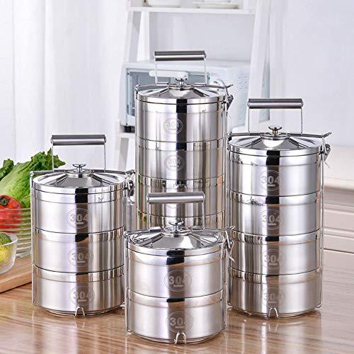 XOSHX Thermos Alimentaires 2 3 Boîte à Lunch de 4 Couches Boîte à Lunch en Acier Inoxydable Conteneur de Nourriture Boîte à Lunch Boîte à Lunch 3