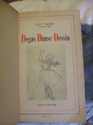 Degas danse dessin par VALERY (Paul)