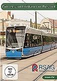 Rostock - Linie 1 der RSAG - Führerstandsmitfahrt