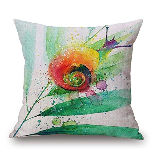cuscino modello acquarello animali, uccelli decorativi stampa cuscini del divano 45 centimetri , n
