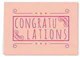 Personalised Greeting Card(Vintage Congrats)-Rs.149
