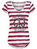 Key Largo Damen T-Shirt Joyce (L, Red)