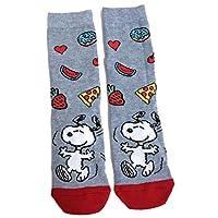 Ladies Peanuts Snoopy Fruity Food Pizza Socks UK 4-8 / Eur 37-42 / USA 6-10