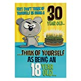 Hallmark Geburtstagskarte zum 30. Geburtstag