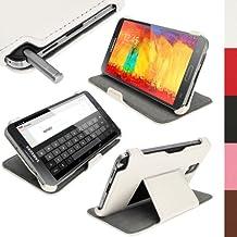 iGadgitz U2749 Folio Blanco funda para tablet - Fundas para tablets (Folio, Samsung, Galaxy Note 3 III N9000 N9002 N9005, Blanco)