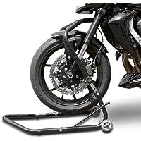 Motorrad Montagest/änder Honda Varadero 125,Varadero XL 1000 V,VFR 750//800//1200 F//R//V-Tec Vorne Classic Front Schwarz-Matt ConStands