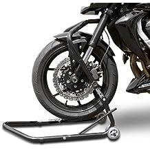 Cavalletto moto alzamoto anteriore per canotto di sterzo ConStands Vario Kawasaki ER-6n 05-14 nero