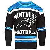 NFL Glow in the Dark Ugly im Dunklen leuchtender Pullover, unisex, Carolina Panthers