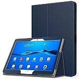 MoKo Etui Huawei MediaPad M3 Lite 10 - étui Fin et Pliable Housse Case pour Tablette Huawei MediaPad M3 Lite 10.0 Pouces, Indigo (avec Automatique Réveil / Sommeil)