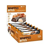 Optimum Nutrition Protein Whipped Bites made with Whey Protein Isolate, Whipped Protein Bars with 20g High Protein and no added sugars Salted Caramel, 12 bars