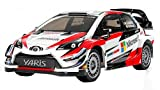 TAMIYA 58659 58659-1:10 RC Toyota Gazoo WRT/Yaris Racing TT-02, ferngesteuertes Auto/Fahrzeug, Modellbau, Bausatz, unlackiert