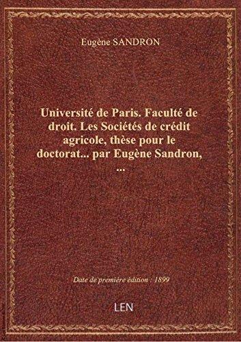 universite-de-paris-faculte-de-droit-les-societes-de-credit-agricole-these-pour-le-doctorat-pa