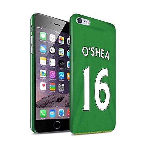 Offiziell Sunderland AFC Hülle / Glanz Snap-On Case für Apple iPhone 6S+/Plus / O'Shea Muster / SAFC Trikot Away 15/16 Kollektion O'Shea