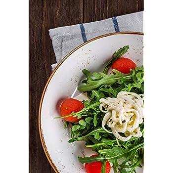Carnet de Notes: Petit journal personnel de 121 pages blanches avec couverture « Salade - Roquette »