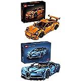 Lego Technic 42056 - Porsche 911 GT3 RS + Technic Bugatti Chiron (42083), Automodell