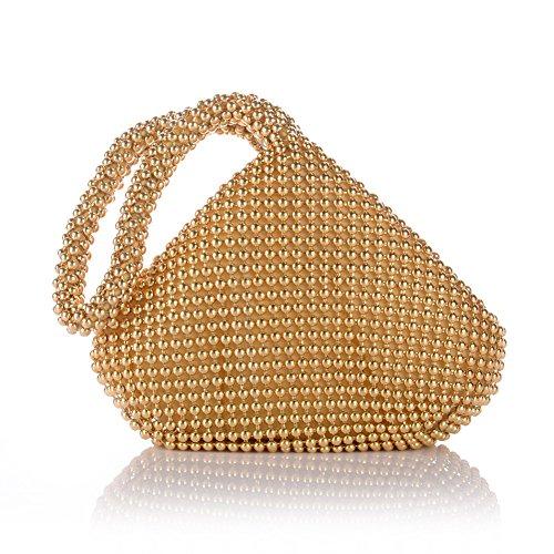 KICCOLY , Pochette pour femme Gold8023