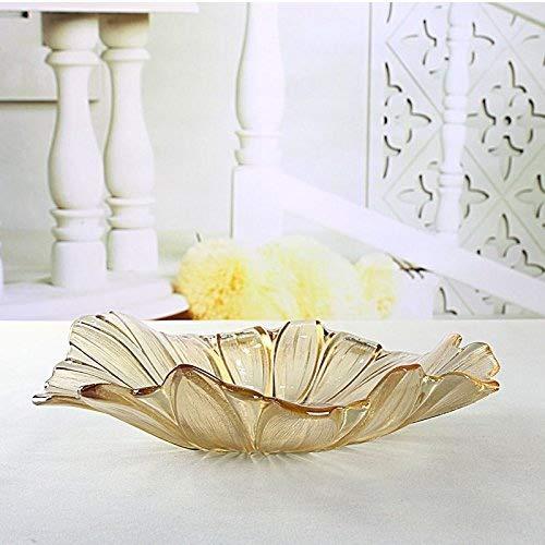 CLG-FLY'simple moderne en verre Crystal Pearl table basse de salon accessoires accueil bols,haute de gamme bols de style européen (grand format)