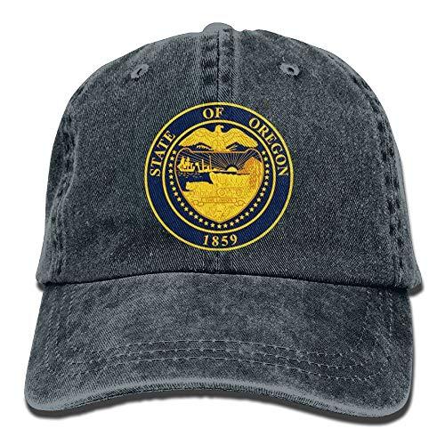 New Hats Adjustable Baseball Caps Oregon Emblem Cowboy Style Trucker Cap