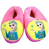"Despicable Me 2 Plush Stuffed Men's Women's Unisex Slippers Smile Soft Toy Minion 11"" Adult Shoes Free size fit 34-42 (3D Eyes Not Available) (Frozen Pink Adult)"