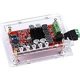 Yeeco TDA7492P Hifi Bluetooth Mini amplificador receptor de audio 50W + 50W estéreo placa de amplificación amplificador amplificador amplifique Bluetooth doble potencia del canal del amplificador de audio digital con Shell; Disipador de calor de la viruta y la conexión de soldadura libre de DC 8-25V
