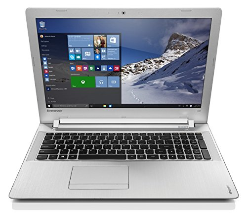 "Lenovo Z51-70 - Portátil de 15.6 "" Full HD (Intel i5-5200U, 12 GB de RAM, 1 TB de disco duro, gráfica AMD R9 M375 4 GB, Windows 8.1) plata - Teclado QWERTY Español"