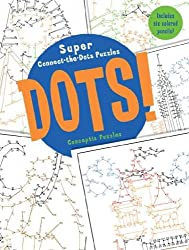 [DOTS!: SUPER CONNECT-THE-DOTS PUZZLES [WITH 6 COLORED PENCILS] BY CONCEPTIS PUZZLES(AUTHOR)]PAPERBACK