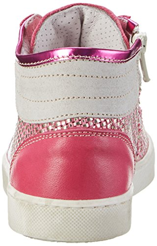 Momino 2880ns, Chaussons montants fille Pink (Fuxia)