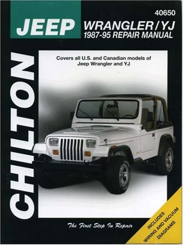, 1987-95 (Chilton's Total Car Care.) (Y-yj)