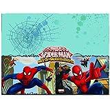Procos 85155–Tischdecke Kunststoff Ultimate Spider Man Web Warriors, 120x 180cm, Rot/Blau/Hellblau