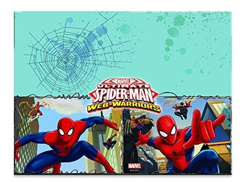 procos-85155-tovaglia-plastica-ultimate-spider-man-web-warriors-120-x-180-cm-rosso-blu-azzurro