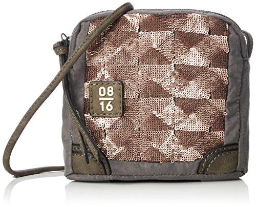 UnbekanntZandvoort-Nach JELLE Shoulder Bag V, XS - Borse a Tracolla Donna Grigio (Light Grey)