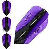 HARROWS retina-x Dart Flights–1Sets (3)–100micron Extra Stark–Slim–Lila