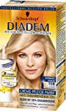 Schwarzkopf Diadem Seiden-Color-Creme 709 Helles Goldblond Ultimate Golds Stufe 3, 1er Pack (1 x 147 ml)