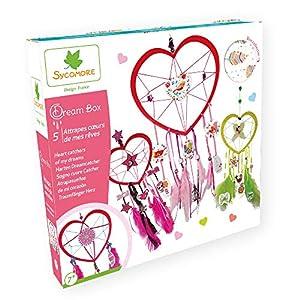 Darpeje Db Atrapasueños Corazón de Dreambox-Sycomore Faujas (CRE2080), (1)