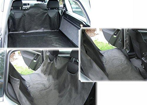 Universale SCHONDECKE für RÜCKSITZ Kofferraumschutzdecke Hundedecke Autoschutzdecke Wanne
