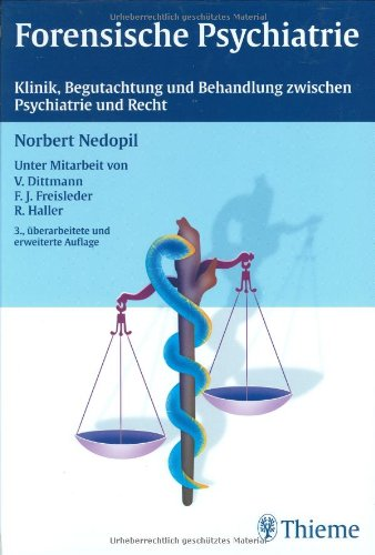 Cover »Forensische Psychiatrie«