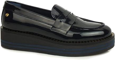 Tommy Hilfiger FW0FW03141 Moder Platform Loafer Schuhe Ohne Laces Damen