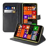 kwmobile Nokia Lumia 1320 Custodia Portafoglio - Cover a Libro in Simil Pelle - Flip Case con Porta Carte per Nokia Lumia 1320