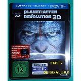 Planet der Affen - Revolution - Limited Lenticular Steelbook Edition (Deutsch) 3D Blu-ray
