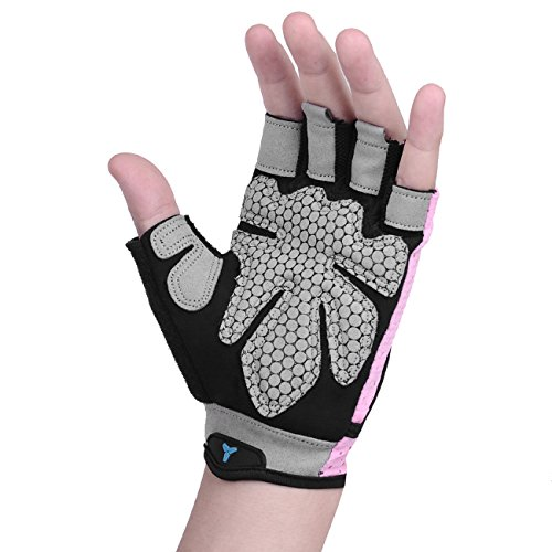 Fitself-Gym-Weight-Lifting-Gloves-Mens-Womens-Breathable-Non-slip-Silica-Gel-Pad-for-Training-Fitness-Bicycle