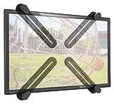 RICOO VESA-Adapter ohne VESA-Bohrungen VA0500 für TV Wandhalterung Schwenkbar Neigbar Fernseher Halterung LED LCD Wandhalter Wandhalterungen Monitor Halter Monitorhalterung Adapterplatte | 4-teilig